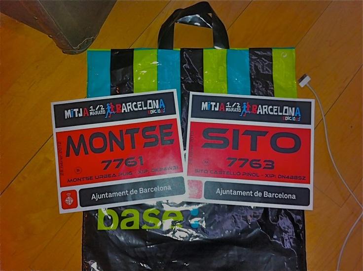 Preparados para otra media maratón de Barcelona :)