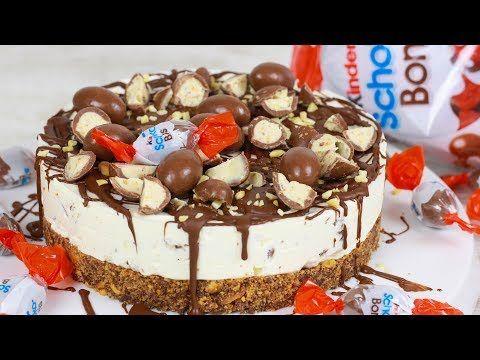 Kinder Schoko Bon Torte Ohne Backen I No Bake Cake Youtube