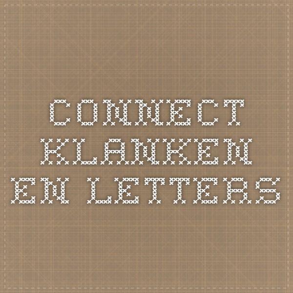 Draaiboek connect klanken en letters