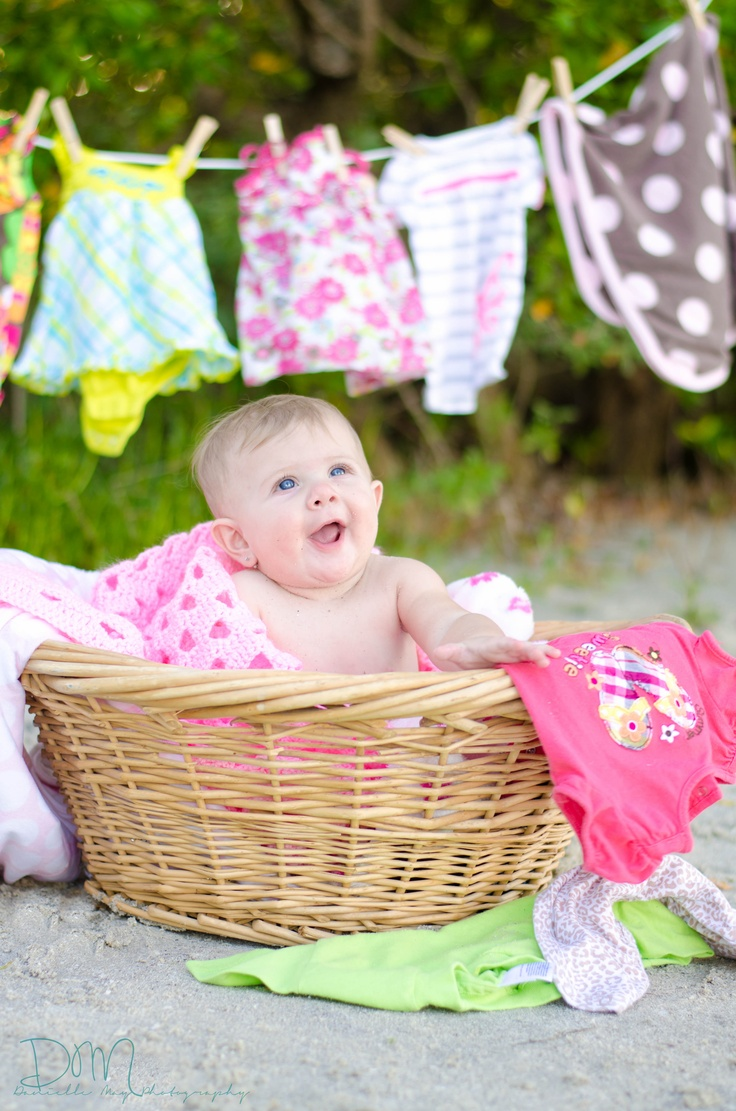 Laundry Time :)  Baby girl - 6 months old: Babies Photography, Photo Ideas, Photographers Kids Baby, Babytalk 2, Baby Girls, Baby Photo, Baby Broyl, Photography Baby, Photography Ideas