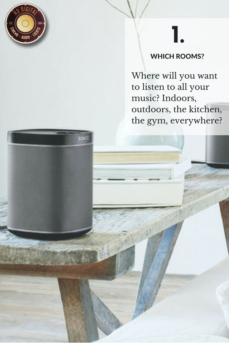 The first question you should ask yourself when buying a Sonos music system