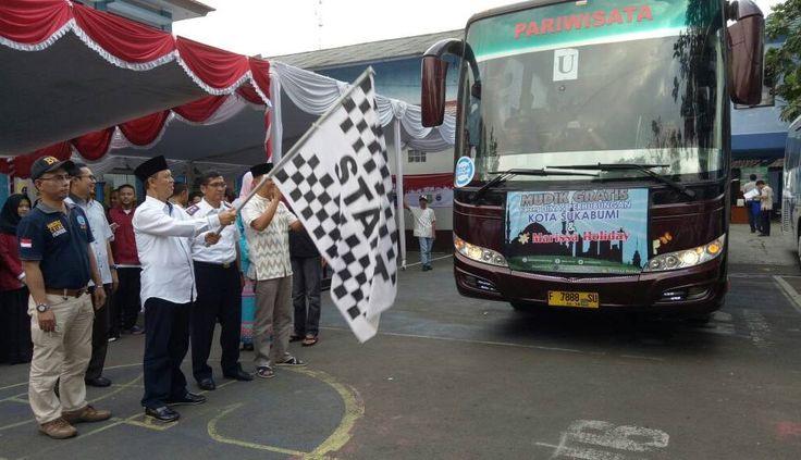 Ratusan Armada Bus Ramaikan Mudik