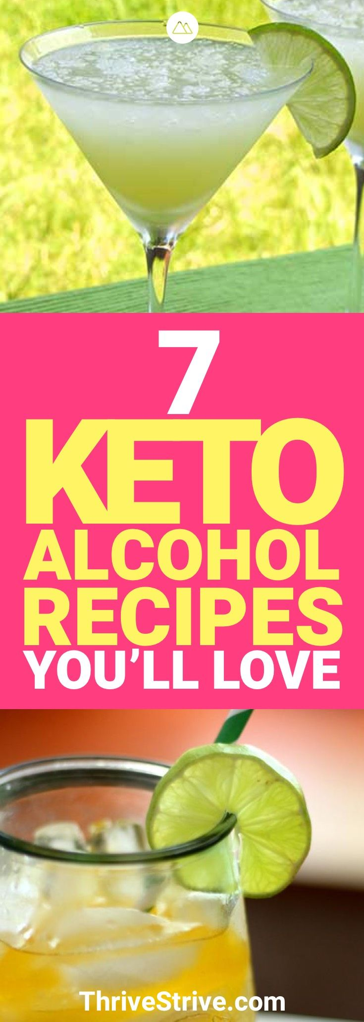 If you're looking to drink on a ketogenic diet, look no further. Here are 7 keto alcohol recipes that are going to keep you in ketosis while you're out having fun.
