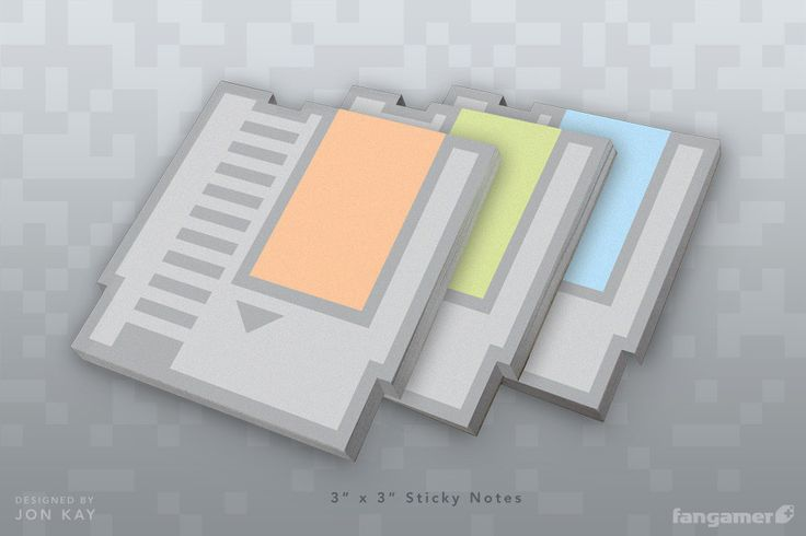 Nintendo Post It Notes - Pretty sure I should have these