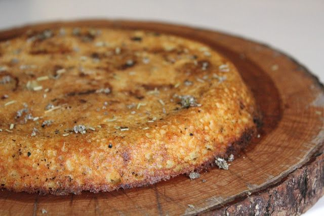 House Vegan.: Roasted Potato and Onion Farinata.