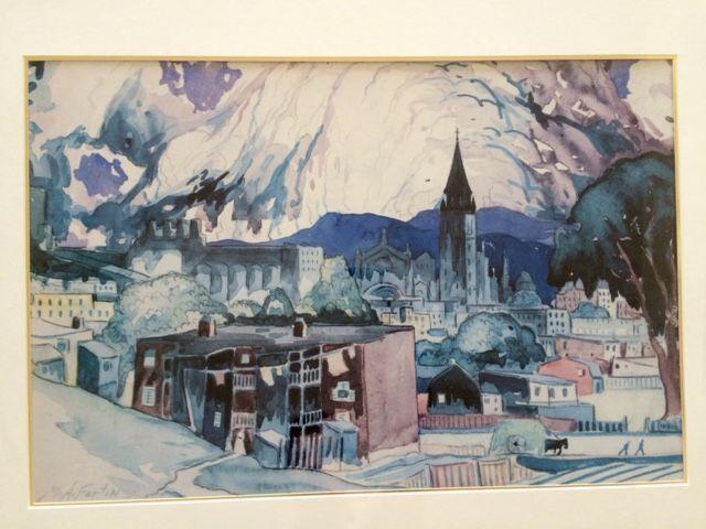 """MARC AURELE FORTIN -  """"Orage sur Hochelaga"""" - """"Ville de Montréal"""""""
