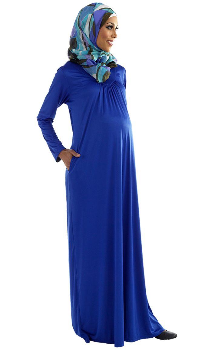 Saeda Maternity Abaya Price: $29.99 Sku ID : AJM9