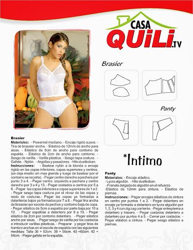 Quili intimo Brasier - Mary N - Álbumes web de Picasa