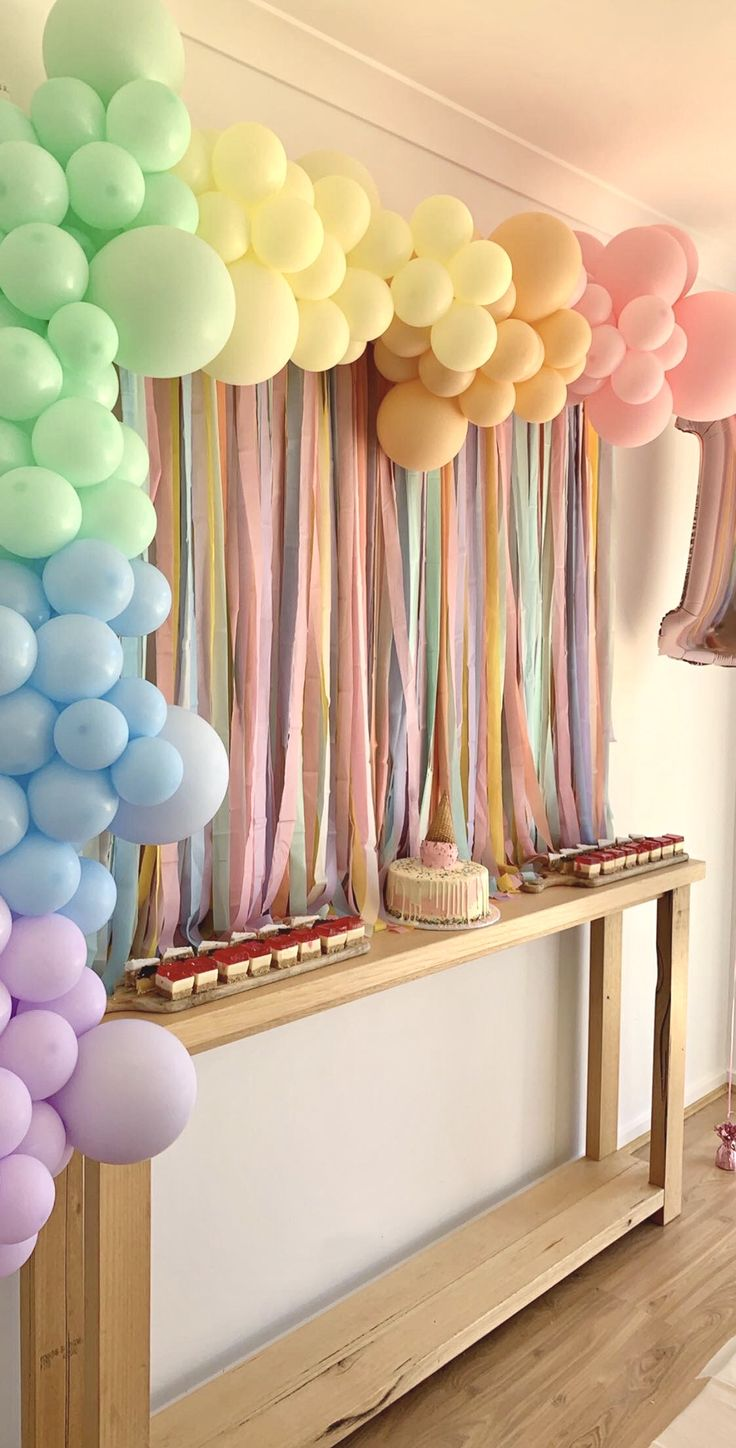Meli A Design 'Pastel' Fringe Garland/ Backdrop in 2020