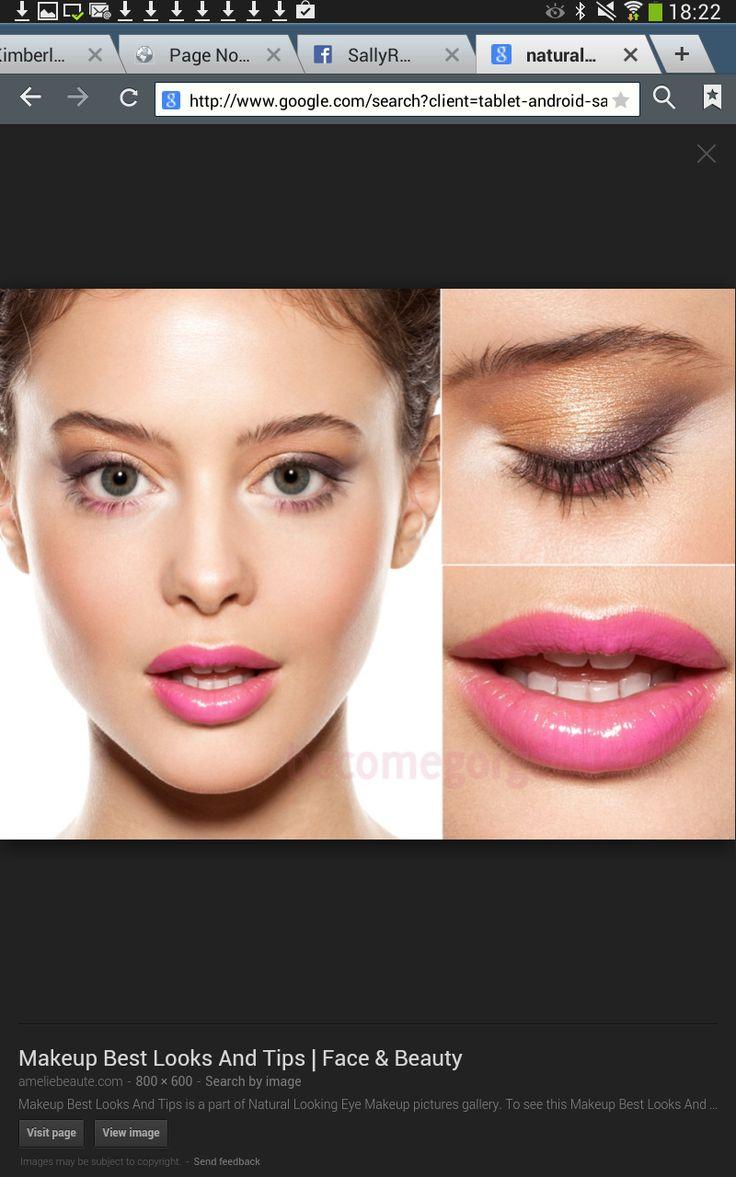 Natural Eyes, Bold Lips!