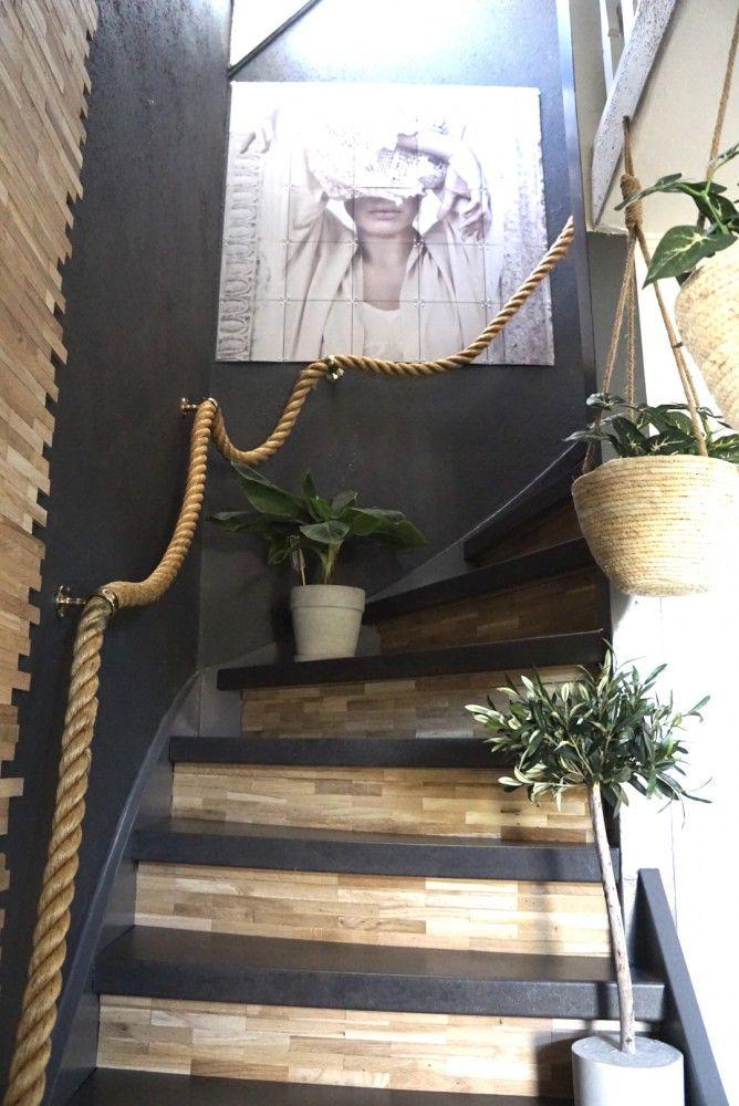 De Trap Renoveren En Stylen Jellina Detmar Interieur Styling Blog Trappenhuis Decoratie Trap Ideeen Trap
