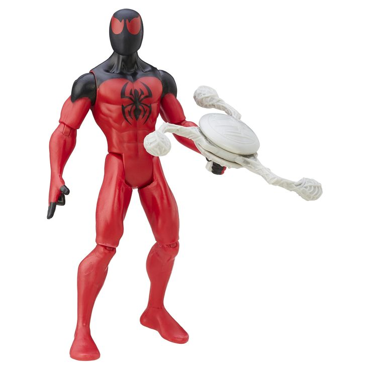 Ultimate Spider-Man vs. The Sinister Six- Marvel Scarlet Spider Action Figure 6