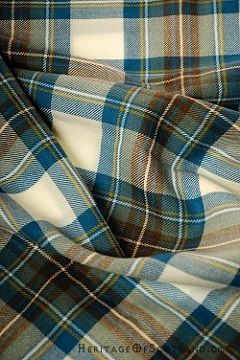 Meaning of Tartan Plaids Stewart Muted Blue Tartan