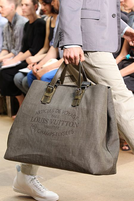 We're back with some more imagery from the Louis Vuitton Spring/Summer 2011 runway show. We take a detailed look at those bags we fell in love with yesterday. The washed out pattered on the green handler above is really the first time we have fallen in love with the oversized monogram working. Is it vintage …