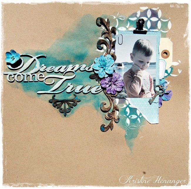 DT Blue Fern Studios - DREAMS COME TRUE - BY KRISTINE HENANGER