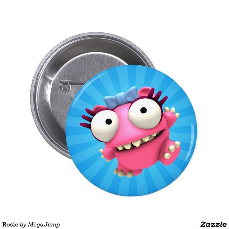 Rosie Button. Regalos, Gifts. #chapa #button