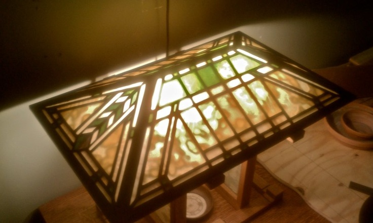Wright Brothers Stained Glass Lamp : Best stained glass custom made lamps images on pinterest