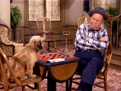 That's Uncle Joe, he's a-movin' kinda slow... :)  Petticoat Junction