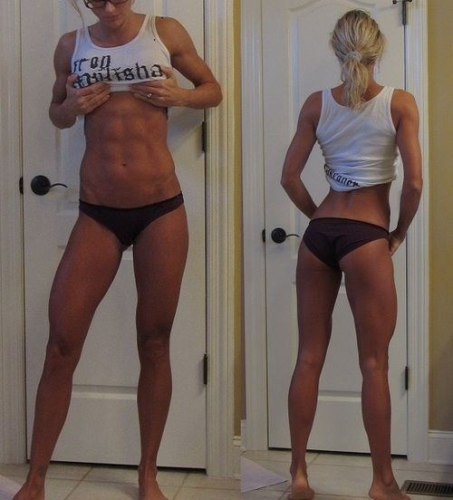 Check out these women's amazing Crossfit before and after body transformations.