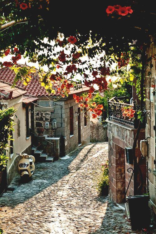 Molyvos, Lesbos Island-Greece