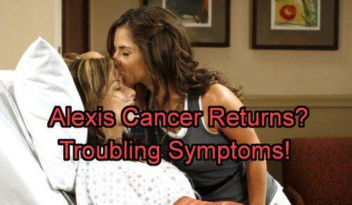 New General Hospital (GH) spoilers tease that Alexis Davis (Nancy Grahn) seeing…