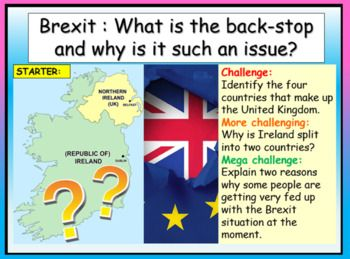 Brexit - The Back-Stop Issue | Brexit, Character education, Republic of  ireland