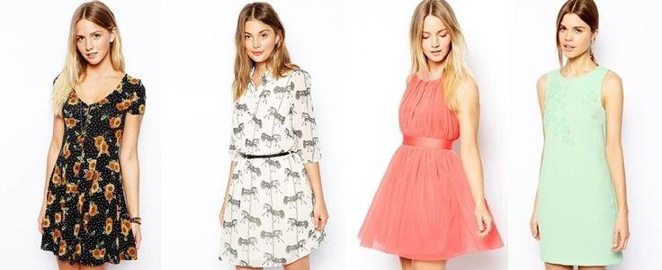 ASOS Vestidos al 50%.  #moda #vestidos #rebajas