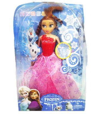 Frozen Telling Story , boneka anna yang bisa bernyanyi dan ber cerita, dilengkapi lampu, lagu dan music serta animal word dan fruit word. Bestuntuk sikecil