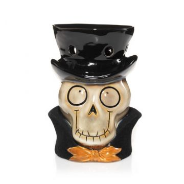 This #BoneyBunch Wax Melts Warmer makes for a great addition to your Halloween decor.