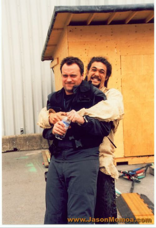 Stargate Atlantis. Behind the scenes with David Hewlett