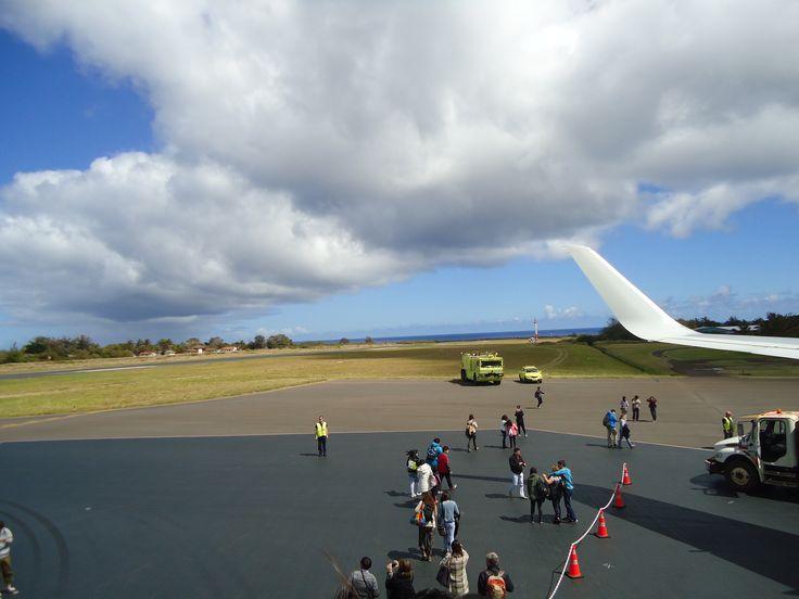 Aeropuerto Internacional Mataveri (Rapa Nui) Septiembre 15, 2014
