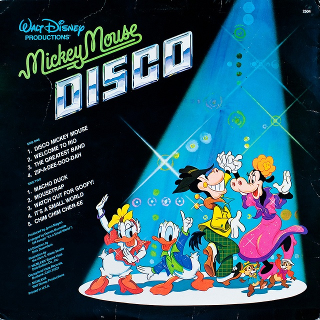 watch out, watch out for goofy, he's a disco demolition