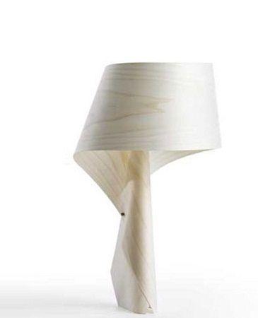 lampara de madera, diseño minimalista