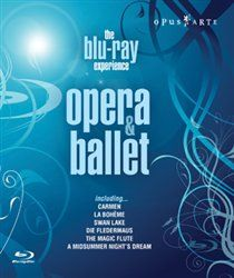 Opera and Ballet - The Blu-ray Experience A compilation of opera and ballet highlights featuring artists including Bryn Terfel Cecilia Bartoli Anne Sofie von Otter Jose Cura Simon Keenlyside and Agnes Letestu. The repertoire comprises: Verdis http://www.MightGet.com/january-2017-12/opera-and-ballet--the-blu-ray-experience.asp