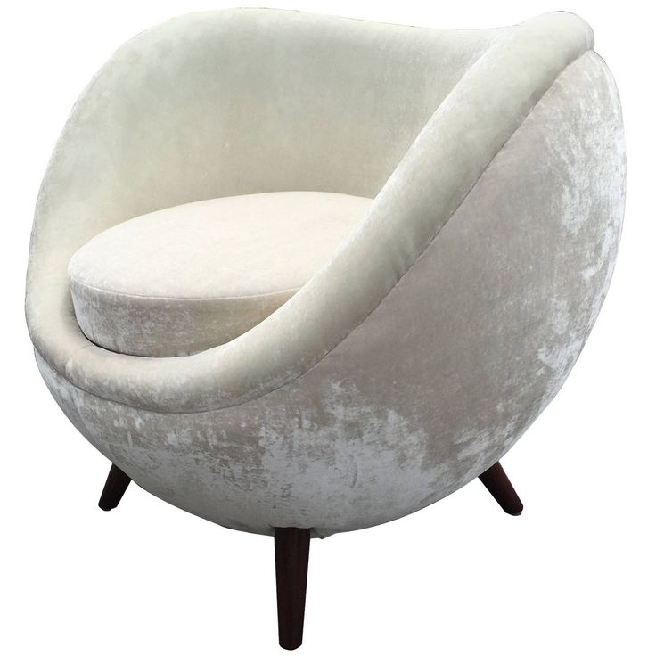 Single Egg Chair Attributed To Jean Royere Antiques