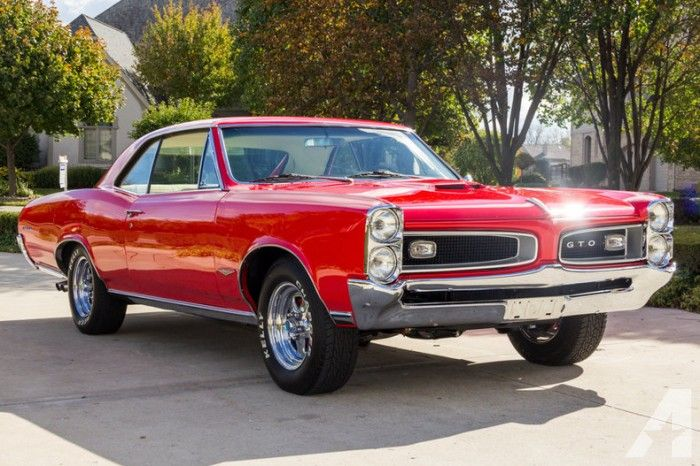 1966 Pontiac Gto Red For Sale In Greenville South Carolina