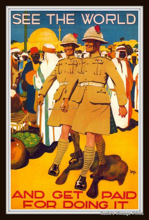 British Propaganda Poster