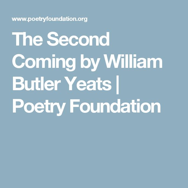 The life literature and spirituality of william butler yeats an english poet