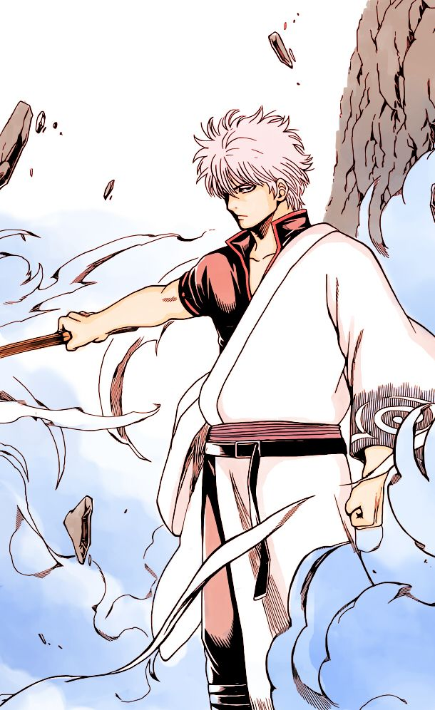 gintama | manga colouring