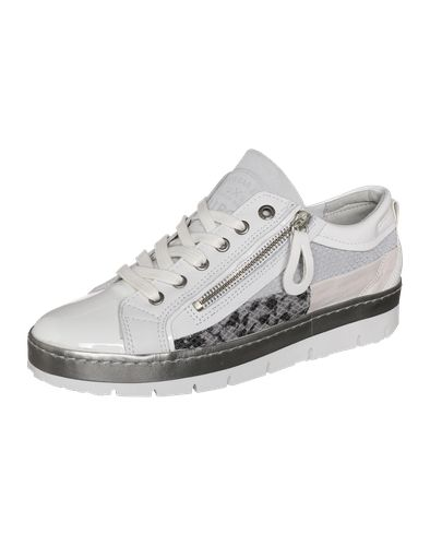 #BULLBOXER #Damen #Sneaker #Low #grau BULLBOXER setzt mit diesem Sneaker Low gekonnt Akzente. Vor allem auffällige Looks werden durch den extravaganten Schuh untermalt. Absolut großartig!