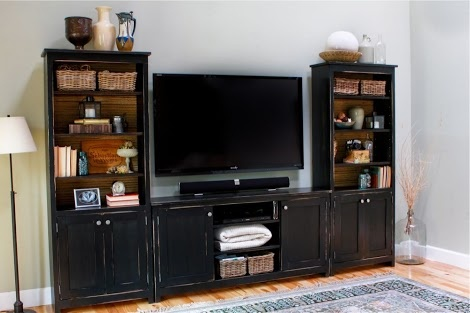 Ana White | Build a Media Bridge for Book Entertainment Center | Free and Easy DIY Project and Furniture Plans