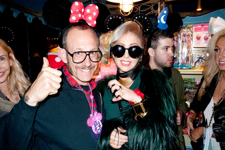 Terry Richardson with some gal call Miss Gaga - Little Monsters in Tokyo