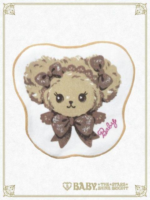 Baby, the stars shine bright Kumakumya's face Towel handkerchief