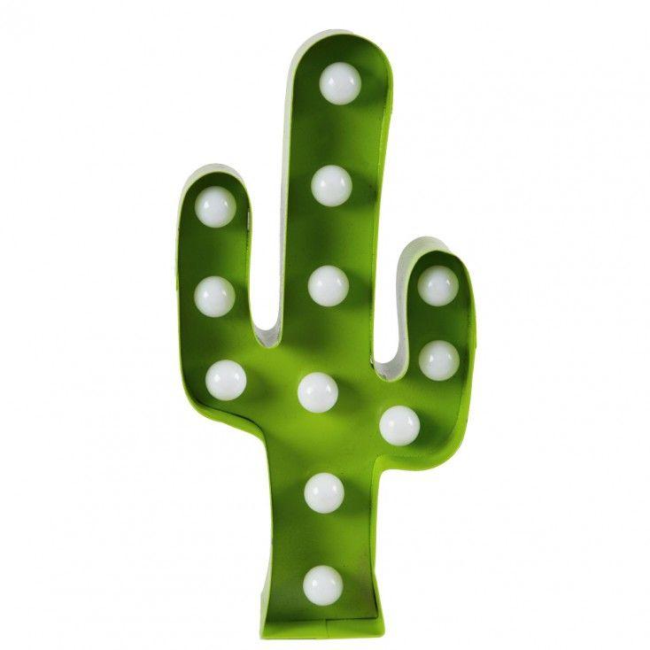 Enseigne lumineuse Cactus