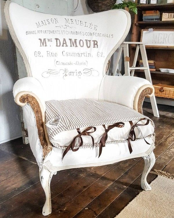Love this #deconstructed chair, it makes gorgeous #farmhouse style! #homedecor @istandarddesign