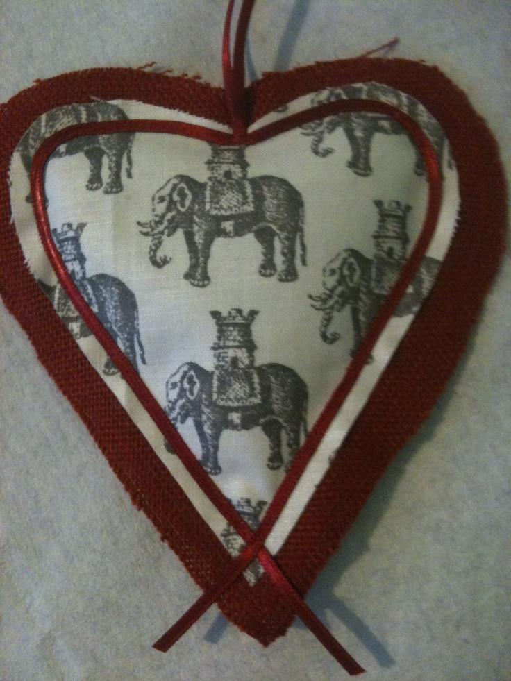 #Elephant Lavender Heart