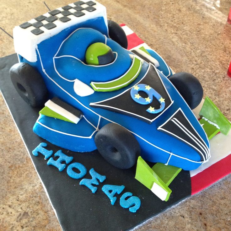 Thomas' birthday cake