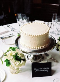 cake centerpieces maybe instead of flowers