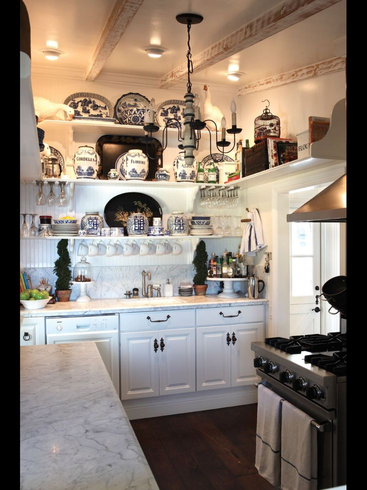 1000 Ideas About Country Kitchen Shelves On Pinterest