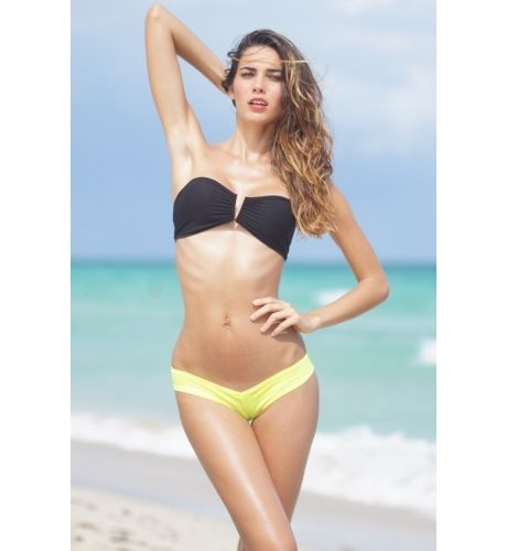 Swimwear separates give you the chance to create your own two piece plus size swimwear fashions. With separates, you purchase swimwear tops and bottoms individually rather than in pairs. As a result, you can pick a top in one size and a bottom in another for .